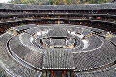 Chengqi Lou en el racimo de Gaobei, provincia China de Fujian Fotografía de archivo libre de regalías