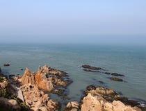 ChengShanTou sjösida Royaltyfri Foto