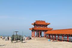 ChengShanTou sjösida Royaltyfri Fotografi