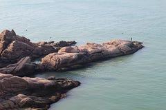 ChengShanTou sjösida Fotografering för Bildbyråer