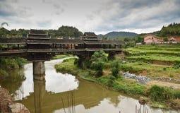 Chengyang minority village in China Royalty Free Stock Photos