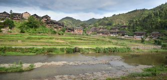 Chengyang minority village Royalty Free Stock Photography