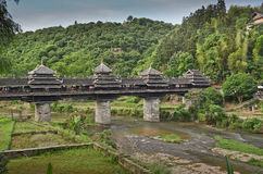 Chengyang Wind and Rain Bridge Royalty Free Stock Images