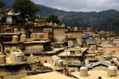 Chengzi Village Luxi, Yunnan Royalty Free Stock Photography