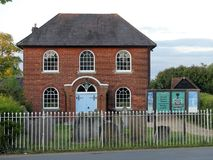 Chenies Baptist Church, estrada de Latimer, Chenies fotografia de stock royalty free