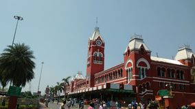 Chennai central royaltyfri bild