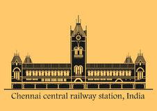 Chennai central station Stock Photography