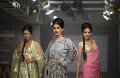 Chennai International Fashion Week 2012 Stock Photos