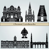 Chennai Landmarks Royalty Free Stock Images