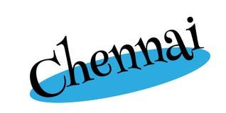 Chennai pieczątka ilustracja wektor