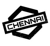 Chennai rubber stamp Stock Image