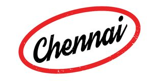 Chennai rubber stamp Royalty Free Stock Image