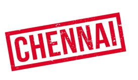 Chennai rubber stamp Stock Photography