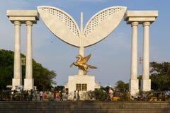 CHENNAI, TAMIL NADU, ΙΝΔΙΑ - ΑΠΡΊΛΙΟΣ 28: Γκέιτς στην προκυμαία Chennai apps 28, 2014 σε Chennai, Tamil Nadu, Ινδία Στοκ Φωτογραφίες