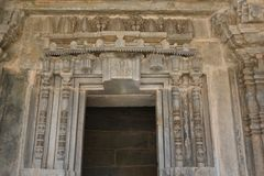 Chennakesava寺庙, Somanathapura,卡纳塔克邦 库存照片