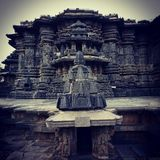 CHENNAKESAVA Temple Architecture design Stone sculpture Belur halebidu yagachi construction Stock Image