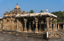 Chennakeshava寺庙在贝鲁尔,卡纳塔克邦,印度 免版税图库摄影