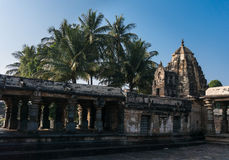 Chennakeshava寺庙在贝鲁尔,卡纳塔克邦,印度 免版税库存照片