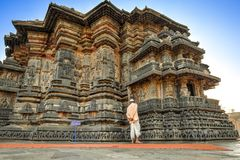 Chennakeshava Complex, Belur, India Stock Photography