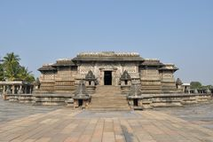 Chennakeshava Hindu Temple in Belur, India Stock Images