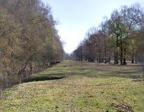 Chennualt parkerar golfbanan är en offentlig kurs för 18 hål arkivbild
