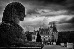 Chenonceau城堡,卢瓦尔河流域,法国 免版税图库摄影