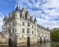 Chenonceau城堡 库存照片