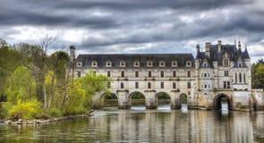 Chenonceau城堡 库存图片