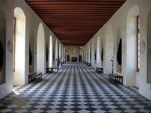 Chenonceau的画廊 免版税库存照片