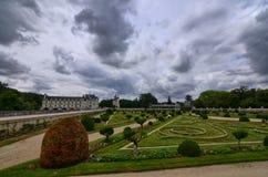 Chenonceau,卢瓦尔河地区,法国城堡  2017年6月27日快照 图库摄影