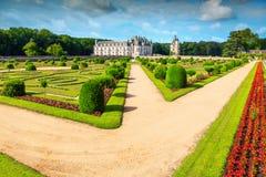 Chenonceau,卢瓦尔河流域,法国,欧洲意想不到的皇家城堡  库存照片