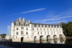 chenonceau Франция замка Стоковые Фотографии RF