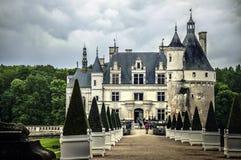Chenonceau, Франция стоковые фотографии rf