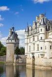 卢瓦尔谷的Chenonceau城堡 图库摄影