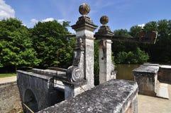 CHENONCEAU, Bauernhof am Chateau de Chenonceau, Loire- Valleyschloss Stockbilder