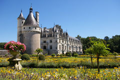 Chenonceau castle Royalty Free Stock Photo