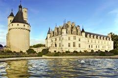 Chenonceau castle Stock Images