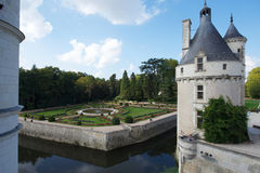 Chenonceau castle Royalty Free Stock Image