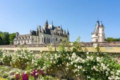 Chenonceau Castle Chateau de Chenonceau in Loire Valley, Francia immagine stock libera da diritti