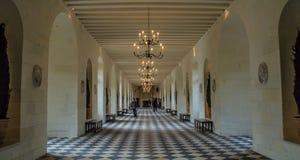 Chenonceau castle. Inside Chenonceau castle in France Stock Images