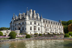 Chenonceau castle in Loire valley Stock Images