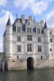 Chenonceau Castle. Is one of the most famous castles of the loire valley in France. It is located in the village with the same name and is open to the public Royalty Free Stock Photography
