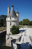 Chenonceau Castle Tower Stock Images