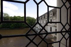 Chenonceau castle Royalty Free Stock Photos