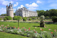 Chenonceau Castle royalty free stock photography