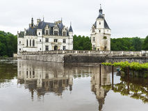 Chenonceau castle. View on Chenonceau castle. Loire valley, France Stock Image