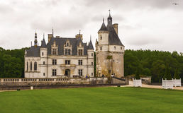 Chenonceau castle. View on Chenonceau castle. Loire valley, France Stock Images