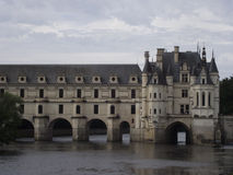 Chenonceau. Chateau de Chenonceau in France royalty free stock photos