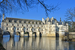 Chenonceau Chateau Royalty Free Stock Photo