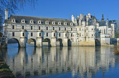 Chenonceau Chateau Stock Images